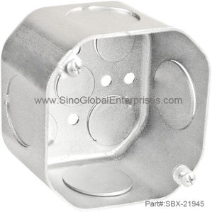 "4"" X2 -1/8""Octagon Junction Box (SBX-21945)"