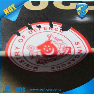 Destructive Warranty Label Adhesive Eggshell Vinyl Material for Printing Label
