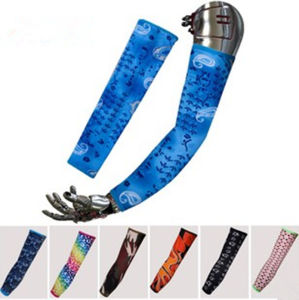 100% Polyester Full Printed Arm Sleeves as Ytq-107 pictures & photos