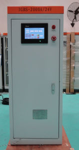 IGBS-2000A24V Anodizing Rectifier with Touch Screen and Remote Control Box
