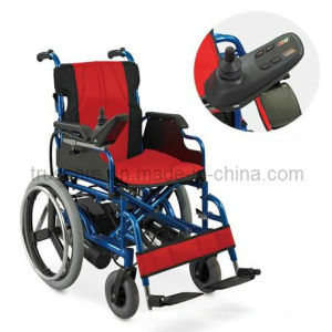 Electric Wheelchair with CE&ISO Approved (Aluminum Frame) pictures & photos