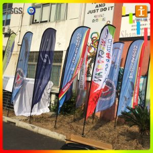 Quality Custom Flying Beach Blade Teardrop Feather Flags pictures & photos