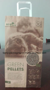 2layer Craft Paper Bag for Cat Litter pictures & photos