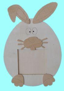 Rabbit Shaped -Wooden Frame (RF3267)