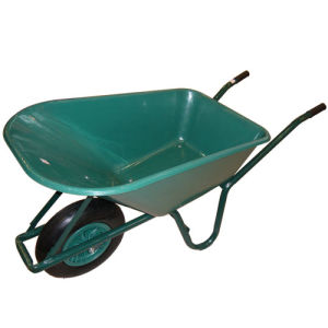 75L Garden Flower Carriage Wheel Barrow Wb6414 pictures & photos