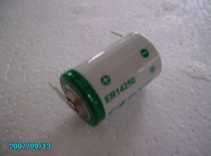 3.6V 1 2AA 1200mAh High Capacity Lithium Battery Er14250h pictures & photos