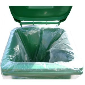 Clear Recycled Wheelie Bin Liners pictures & photos