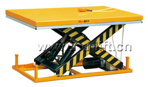 Heavy Duty Stationary Electric Hydraulic Scissor Lift Table pictures & photos