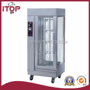 Electric Vertical Chicken Rotisseries for Restaurant pictures & photos