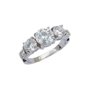 925 Silver Jewelry Ring (210854) Weight 4.5g