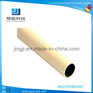 Beige Coated Pipe for Pipe Racking System Lean Pipe Hj-4000