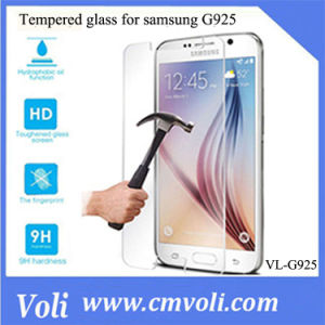 Tempered Glass Screen Protective Film for Samsung Galaxy S6 Edge Sm-G925 pictures & photos