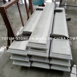 Polished White Marble Stone Cut-to-Size for Stair & Step, Tile pictures & photos