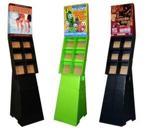 6 Compartments Books Cardboard Display Racks (ENFD002)