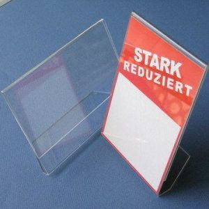 Acrylic Sign Holder, L Display