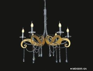 Modern Crystal Chandelier Lighting (MD0895-6A) pictures & photos