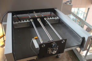 Microcomputer Hydraulic Guillotine 720mm with Side Table and Air Cushion H720rt pictures & photos