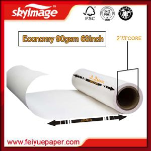 90GSM 63inch Fast Dry Non-Curl Sublimation Transfer Paper pictures & photos