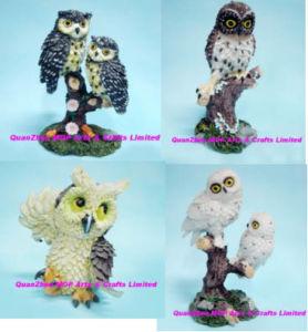 Resin Owl Decoration, Polyresin Owl pictures & photos