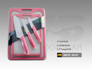 Cutting Board Series Kitchen Knife (MS15-16121) pictures & photos