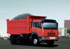 Faw Yiqi New J5p Back Dump Truck (CA3256P2K2T1A80)