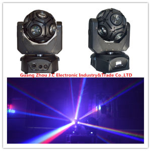 Newest Infinite Rotating 12*10W RGBW LED Football Moving Head Effect Light pictures & photos