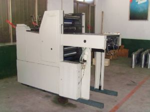 Offset Printing Machine (Single-color and double sides) pictures & photos