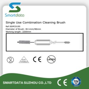 Single-Use Endoscopy Brush, Disposable Combination Cleaning Brush pictures & photos
