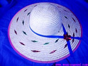 Straw Hat Lady Women (HYBS7)