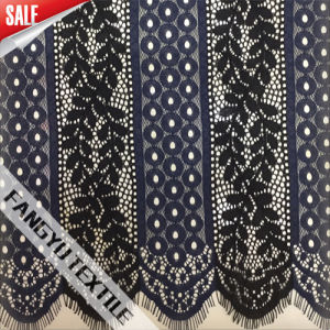 Elegant Lace Fabric with Nylon and Polyester