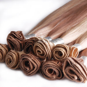 Virgin Remy Brazilian Human Hair Extension pictures & photos