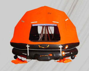Khzd Self-Righting and Davit-Launched Type Inflatable Life Raft pictures & photos