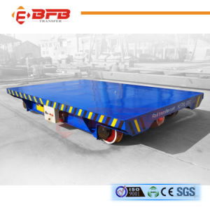 Storage Battery Powered Die Handling Trolley for Heavy Material Handling (KPX-40T) pictures & photos