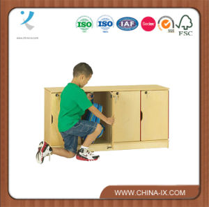Stacking Children Locker with 4 Secured Compartment pictures & photos