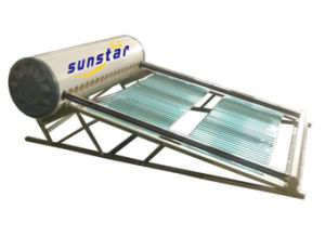 Glass Tube Non-Pressure Solar Water Heater (SS) - 3 pictures & photos