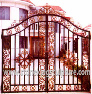 Cast Iron Gate, Wrought Iron Gate (SK-5015) pictures & photos