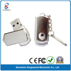 Metal Swivel USB Flash Drive with Keyring pictures & photos