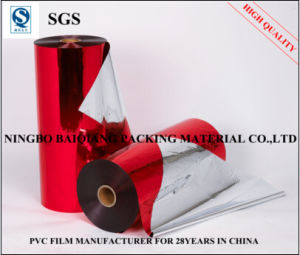Red-Metallized Twist Film