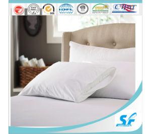 Soft Like Silk Cotton Stripe Microfiber Cheap Pillow Case pictures & photos