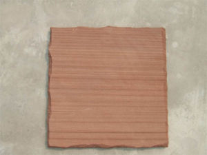 Red Pitch Wood with Natural Cut & Saw Finish (002)