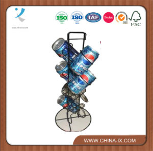 Countertop Retail Store Metal Drinks/Bottles Display Stand pictures & photos