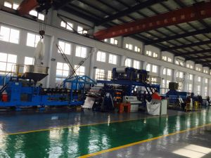 2 Rollers Alu-Plastic Composite Panel Production Line HD2000 pictures & photos