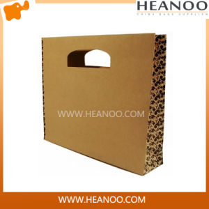New Custome Logo Printed Shopping Paper Bag with Cartoon Pattern pictures & photos