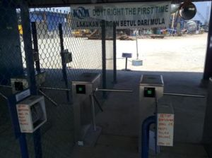 Tripod Turnstile Gate Access Control Project Image (LT-48) pictures & photos