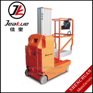 Wholesale Price for Full Electric Double Mast Aerial Work Platform pictures & photos