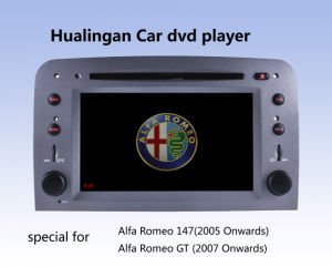 Car DVD Player Auto DVD GPS Audio for Alfa Romeo 147 (HL-8805GB) with MP5 Player Manual pictures & photos