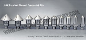 Diamond Drill Bit for Glass Drilling Machine Hole Drilling pictures & photos