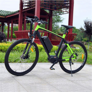 700c Middle Driving Mountain Electric Bike pictures & photos