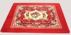 Best Quality 100% Polyester Printed Rugs pictures & photos