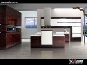Fashional Painted Kitchen Cabinet pictures & photos